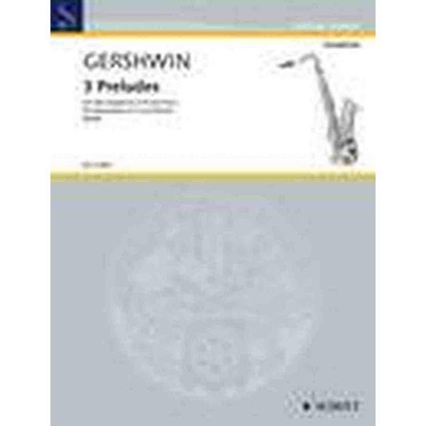 3 Preludes, Altsaksofon og Piano, Gershwin