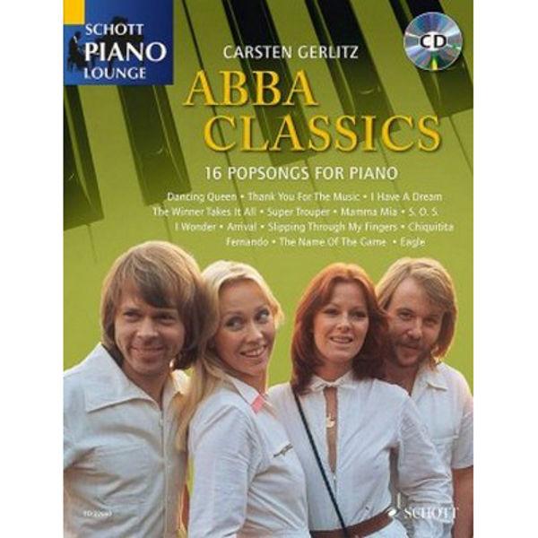ABBA Classics - 16 Popsongs for Piano