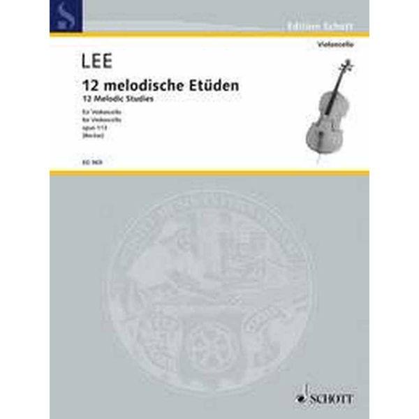 12 Melodische Etüden Op. 113- Cello Sebastian Lee