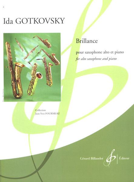 Brillance for alto saxophone and piano - Ida Gotkovsky