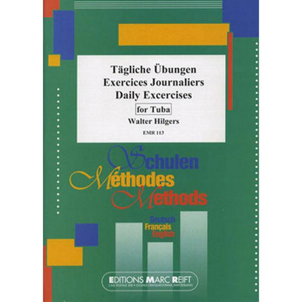 Daily Drills / Tägliche Übungen, Walter Hilgers. Tuba
