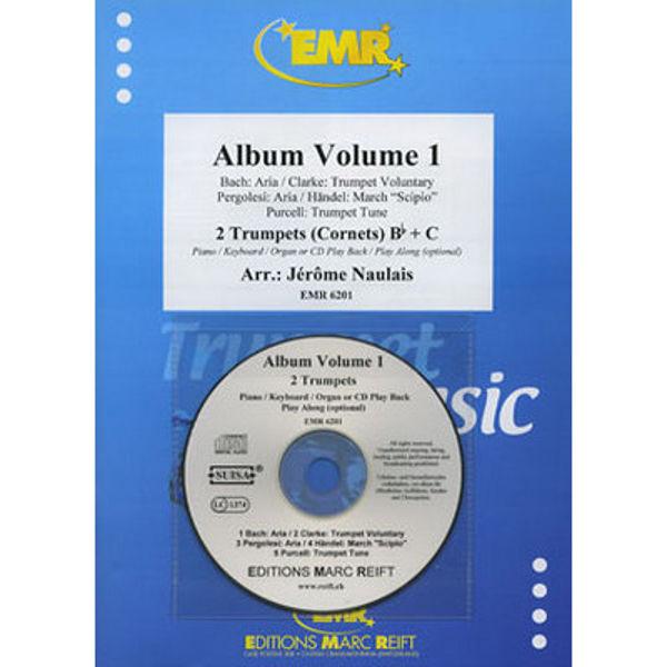 Album Volume 1 - Two Trumpets - Piano/CD