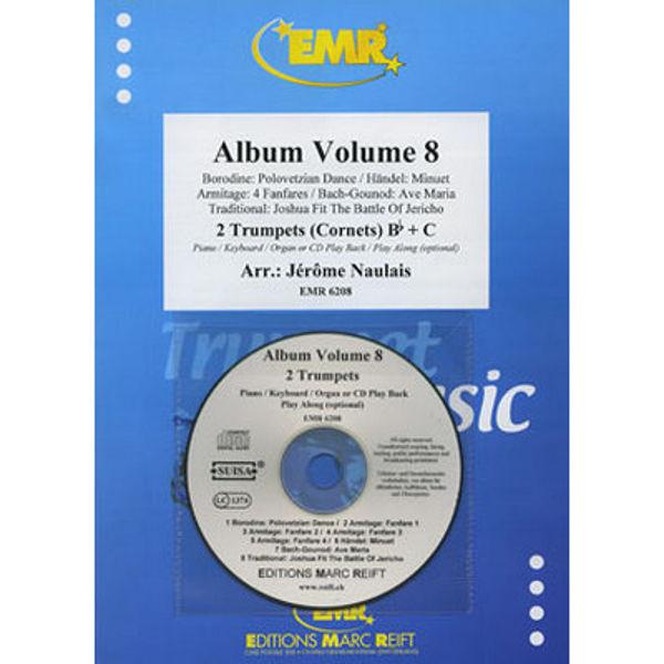 Album Volume 8 - Two Trumpets - Piano/CD
