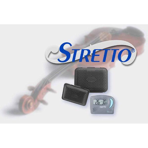 Luftfukter Fiolin/Bratsj Stretto  inkludert Hygrometer og 2 poser