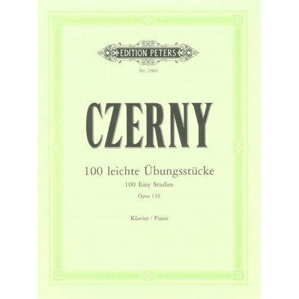 100 Easy Progressive Pieces without Octaves Op.139, Carl Czerny - Piano Solo