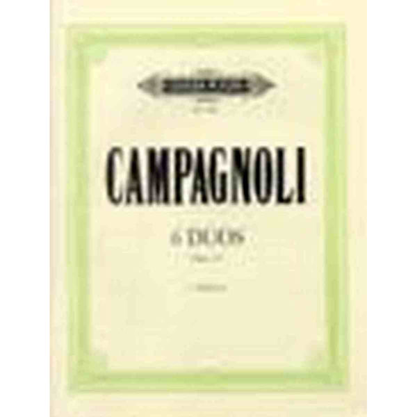 6 Duos Op. 14 - 2 Violinen - Campagnoli