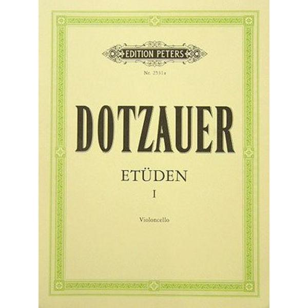 Dotzauer - Etüden Cello hefte 1, Utvalgte etuder