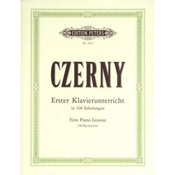 100 'Recreations', Carl Czerny - Piano Solo