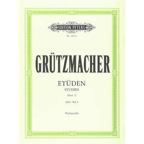 Grutzmacher - Etüden violoncello opus 72 hft 1