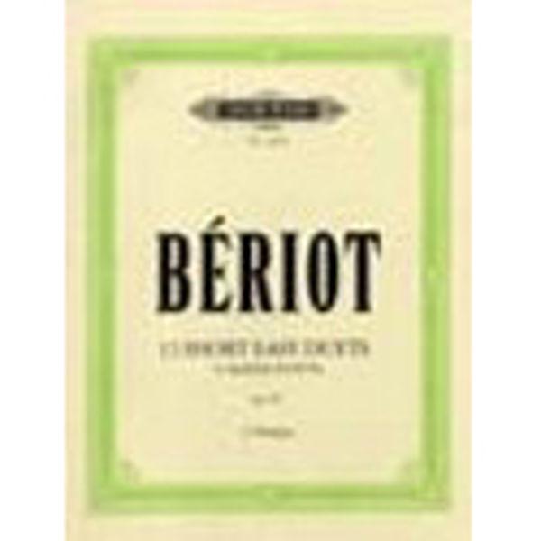 12 Short Easy Duets Op. 87 2 Violins - Bériot