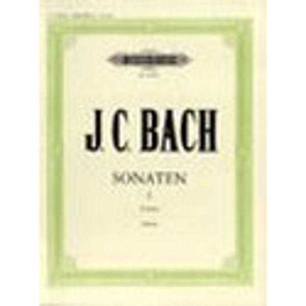 10 Sonatas Vol.1, Johann Christian Bach - Piano Solo
