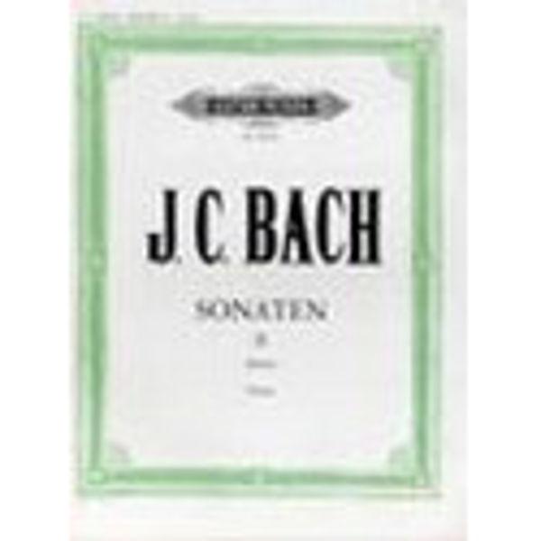 10 Sonatas Vol.2, Johann Christian Bach - Piano Solo