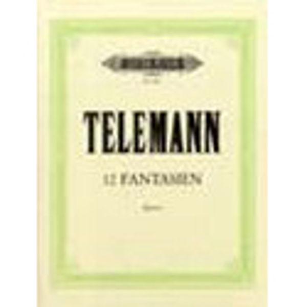 12 Fantasias, Georg Philipp Telemann - Piano, Organ Solo