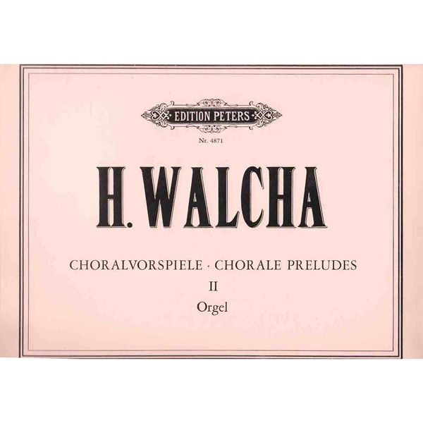 20 Chorale Preludes, Helmut Walcha - Organ Solo