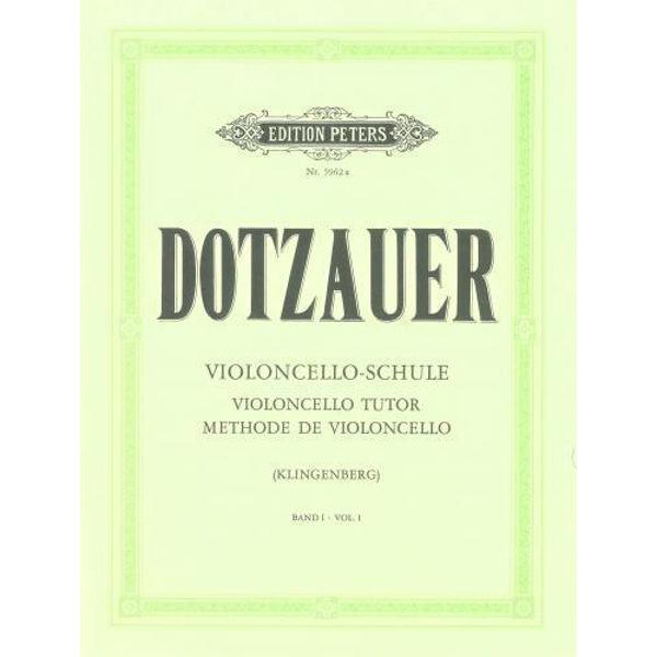Dotzauer Violoncello-Schule vol 1