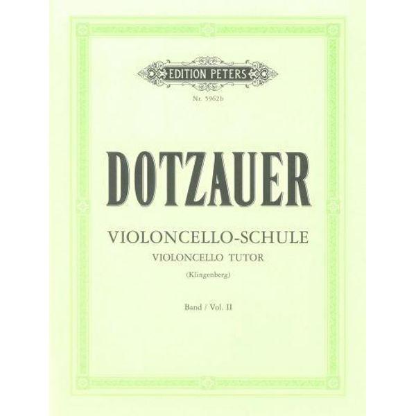 Dotzauer violoncello-schule vol 2