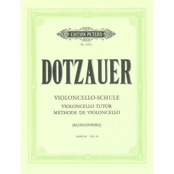 Dotzauer violoncello-schule vol 3