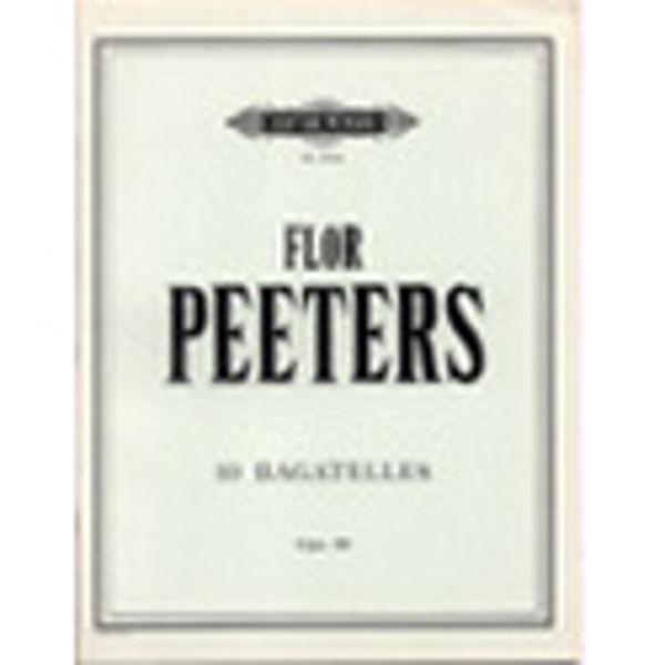 10 Bagatelles Op.88, Flor Peeters - Piano Solo