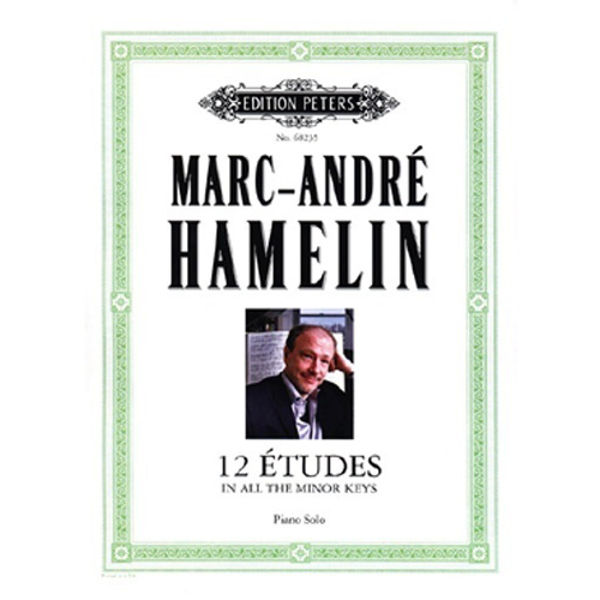 12 études for Piano in all the minor keys, Marc-Andre9 Hamelin - Piano Solo