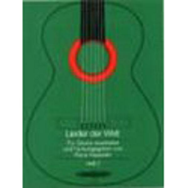 Lieder der Welt - For Two Guitars - Heft 2