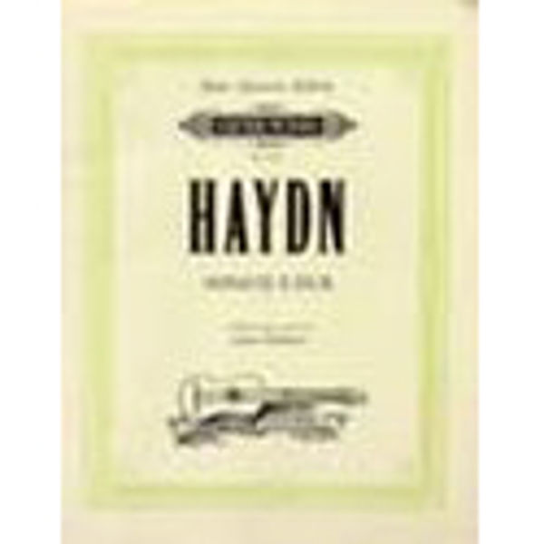 Sonate E-Dur - Edition For Two Guitars - Haydn