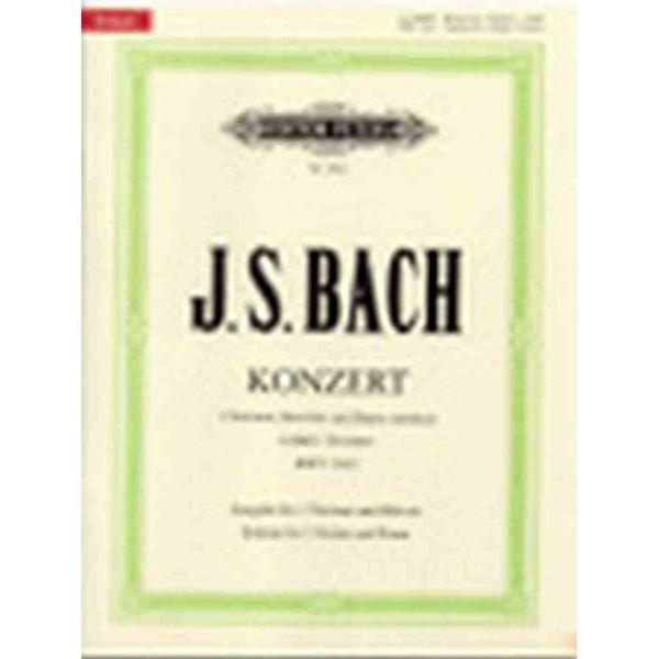 Concerto for 2 Violins & Strings in D minor BWV 1043 (Piano) - J.S. Bach