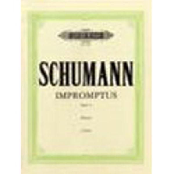 10 Impromptus on a theme by Clara Wieck Op.5, Robert Schumann - Piano Solo