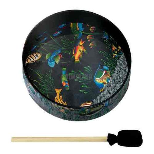 Ocean Drum Remo ET-0212-10, 12x2,5 Fish Graphic