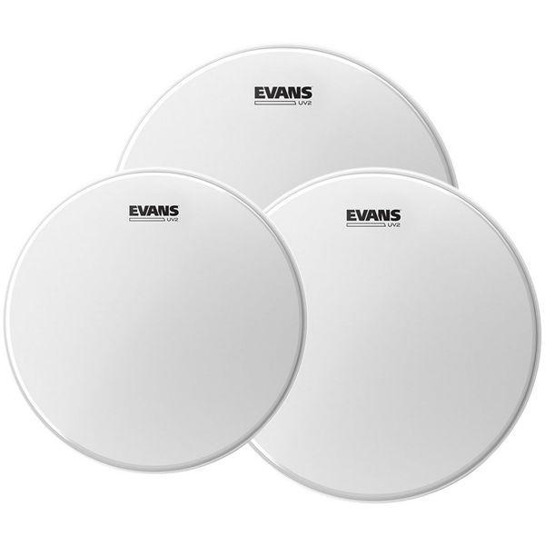 Trommeskinnpakke Evans UV2, ETP-UV2-S, 12,13,16, Standard, Coated