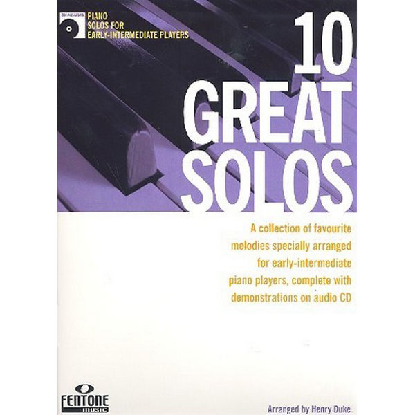 10 Great Solos (for early-intermediate players) - Piano