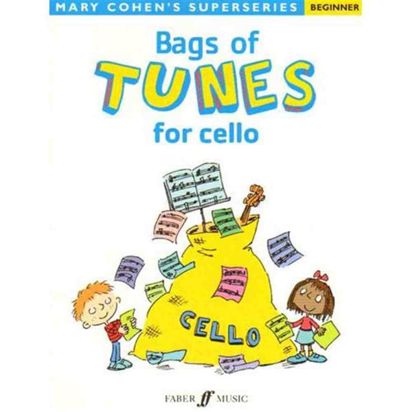 Bags of Tunes for cello, Mary Cohen