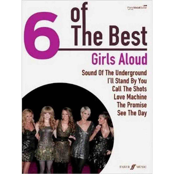6 of The Best - Girls Aloud - Piano/Vokal/Gitar