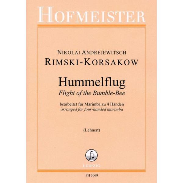 Flight of the Bumble-Bee/Hummelflug Rimski-Korsakow. Marimba 4H