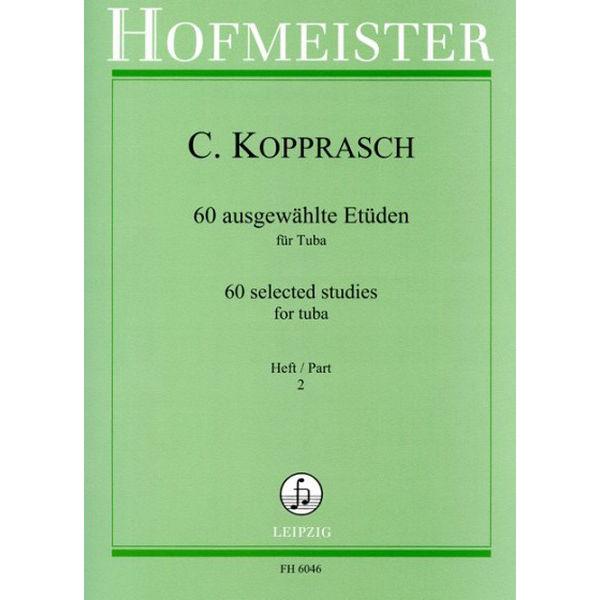 Kopprasch 60 ausgewählte Etüden für Tuba vol 2