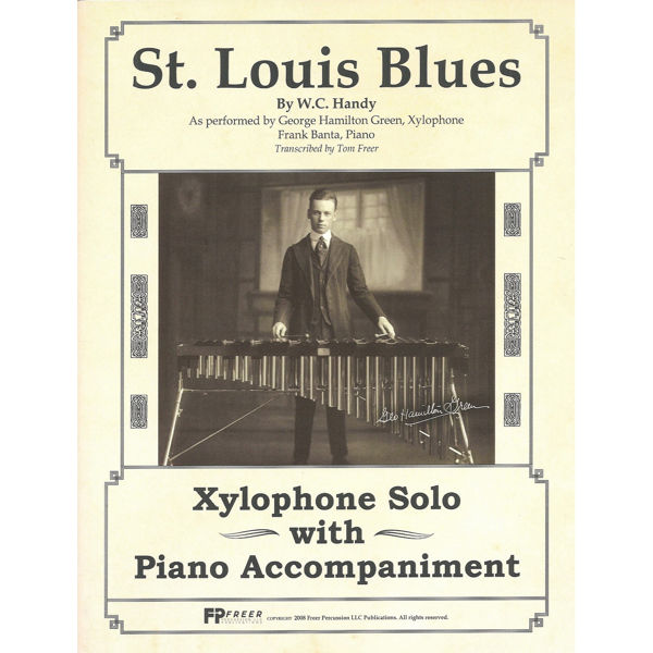St. Louis Blues, Xylophone Solo w/Piano Accompaniment