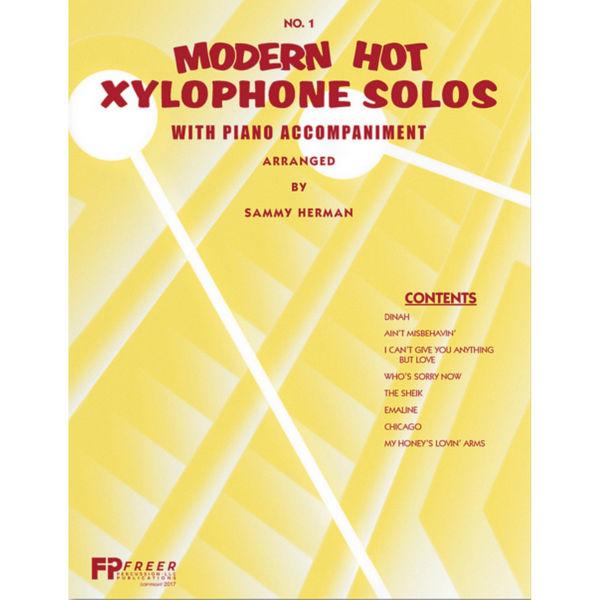 Modern Hot Xylophone Solos Vol. 1, w/Piano Accompaniment, Sammy Herman
