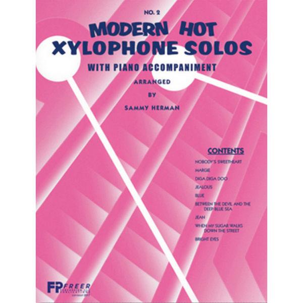 Modern Hot Xylophone Solos Vol. 2, w/Piano Accompaniment, Sammy Herman