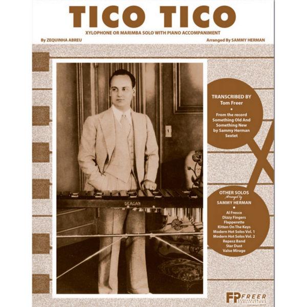 Tico Tico, Xylophone Solo w/Piano Accompaniment