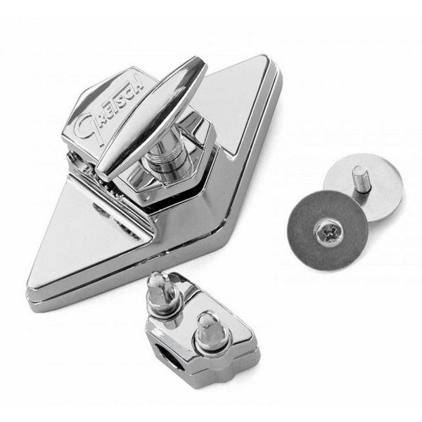 Gulvtrommebrakett Gretch GRG4825 Hinged Diamond Plate
