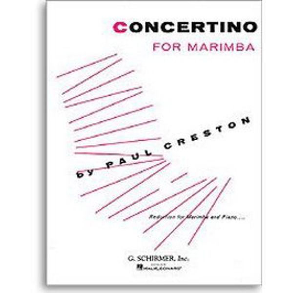 Concertino For Marimba, Paul Creston