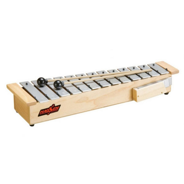 Klokkespill Hau-Sheng HGS-16, Sopran Diatonisk C6-A7 (C64-A85) 16 Staver, 40,5x12,5x6 cm