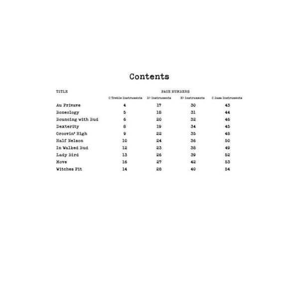 Bebop Era Play-Along - Real Book Multi-Tracks Volume 8, C/Bb/Eb/BC