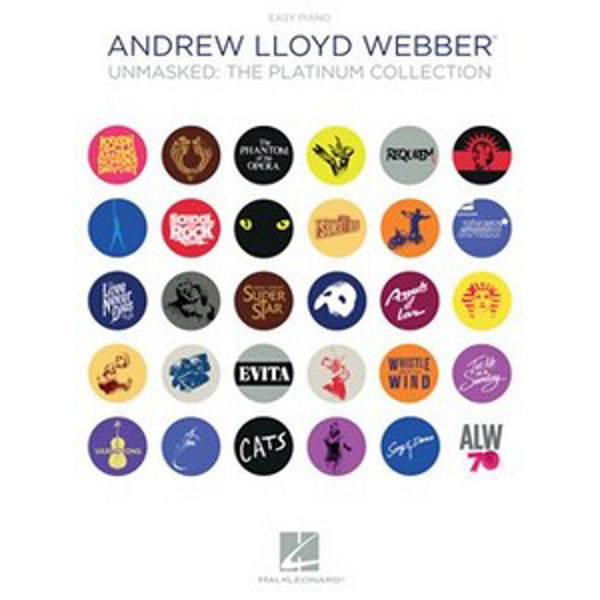 Andrew Lloyd Webber: Unmasked - The Platinum Collection (Easy Piano)