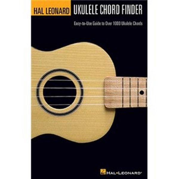Hal Leonard Ukulele Chord Finder (A5 Edition)