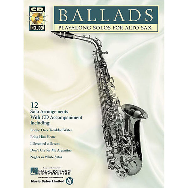 Ballads Playalong for Alto Saxophone
