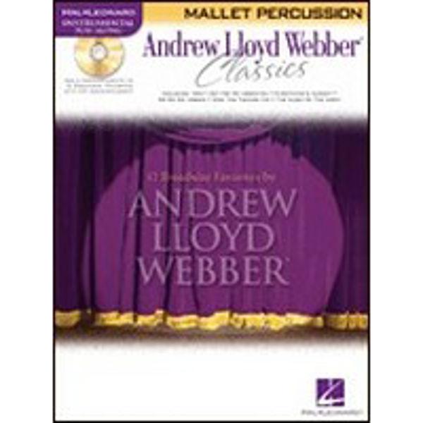 Andrew Lloyd Webber Classics Mallet 12 Play-Along M/CD