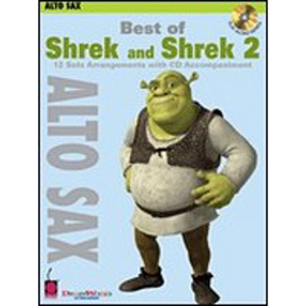Best of Shrek and Shrek 2 - altsax