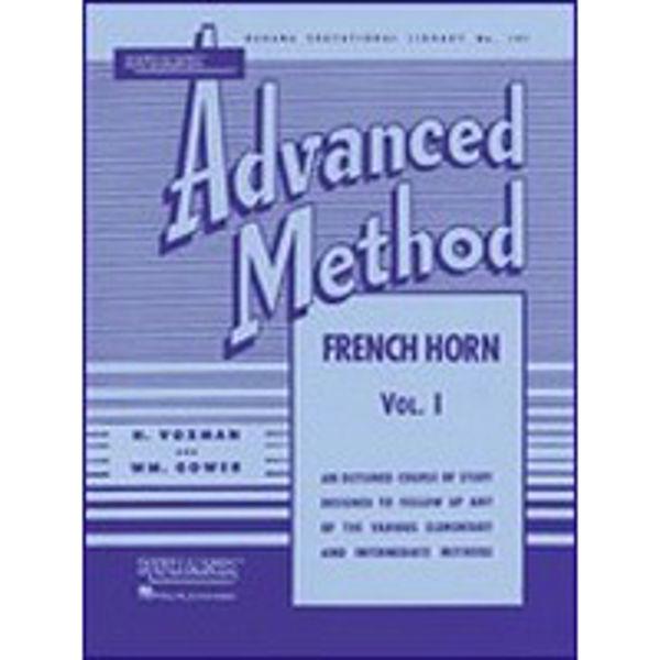 Rubank Advanced Method for Waldhorn Vol 1