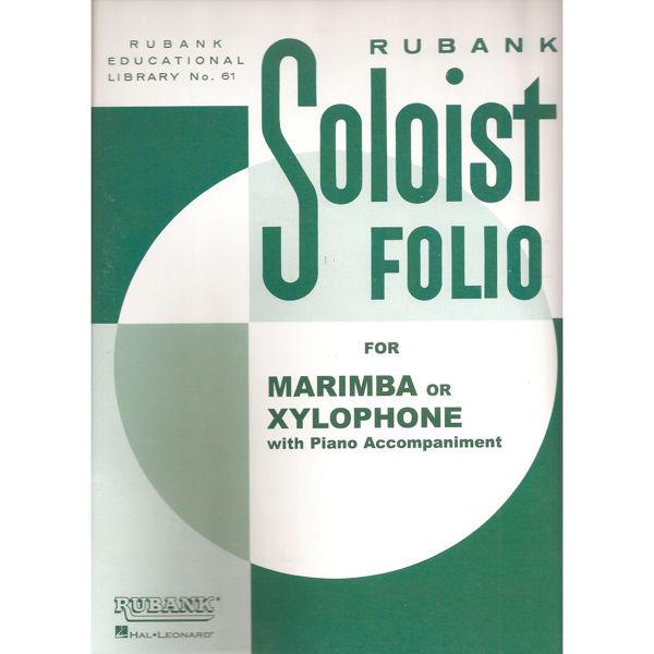 Rubank Soloist Folio - Xylophone or Marimba with Piano