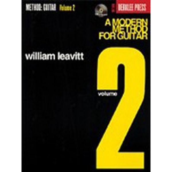 A Modern Method For Guitar Vol 2, William Leavitt